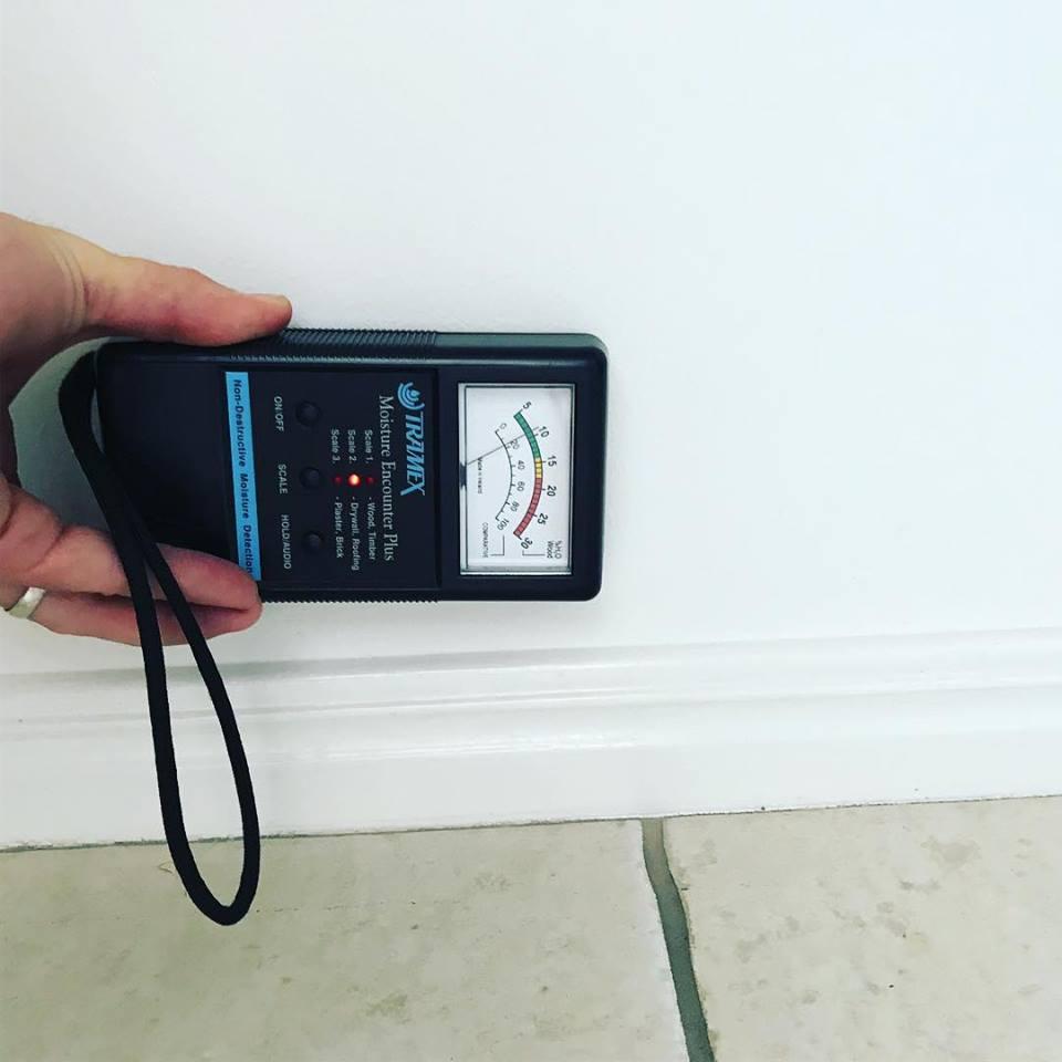 a moisture meter